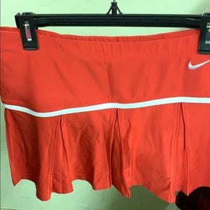 Nike tennis skirt (shorts underneath)